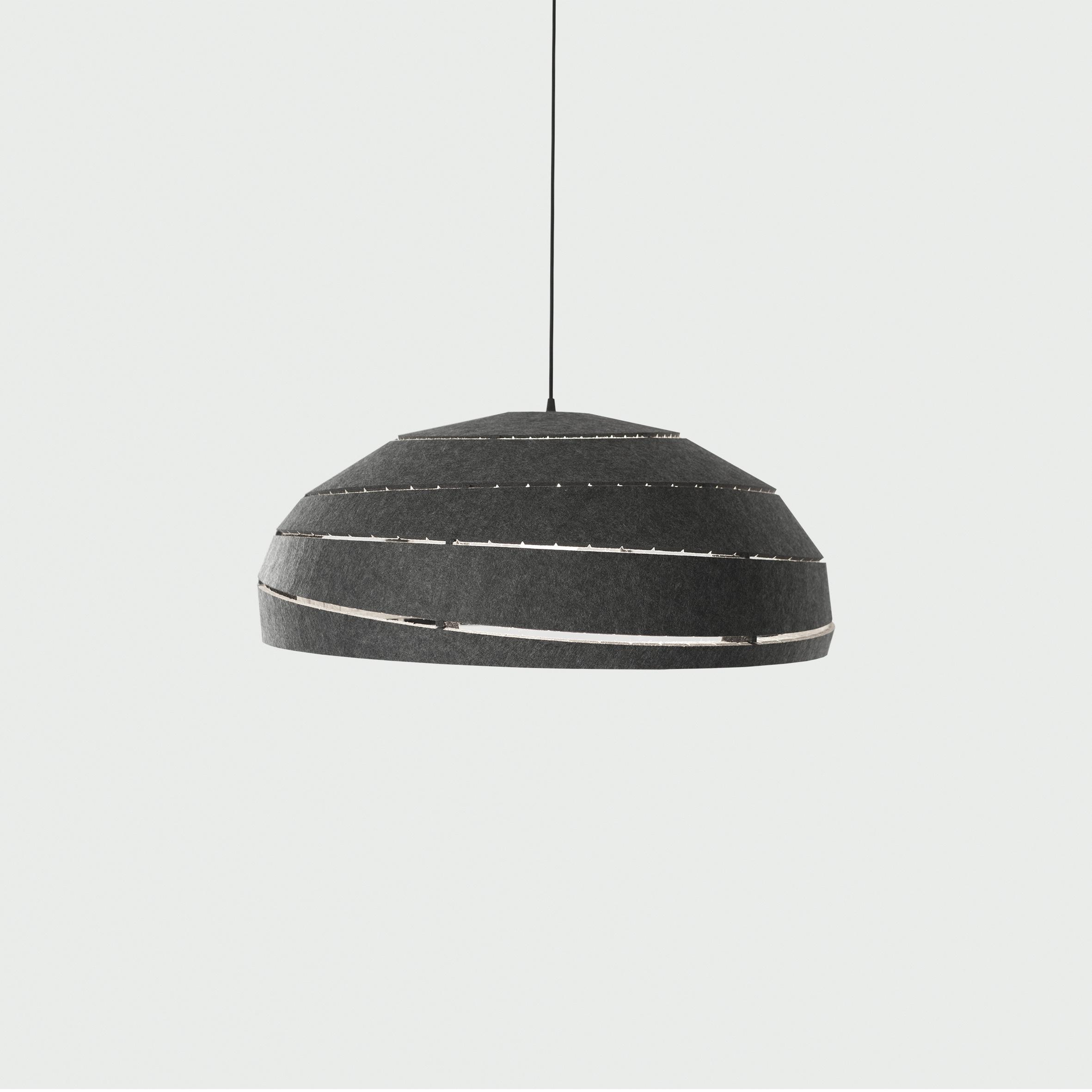 Sliced PET Felt lamp